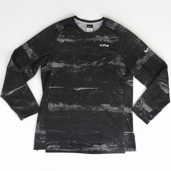 f40c5146 NIKE Men's Lebron Ultimate Elite Shooter Shirt Top.  M_5b31405f035cf17e298c587a